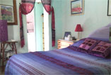 One of the bedrooms at El Nido